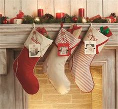mud pie initial photo frame stockings christmas closeout sale up to 70 - Mud Pie Christmas Decor