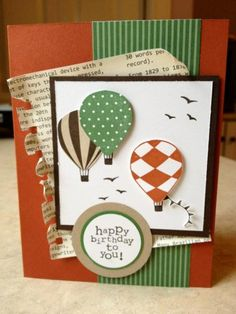 Up, Up & Away Birthday   by Catherine Joy Stockley  May 17, 2012