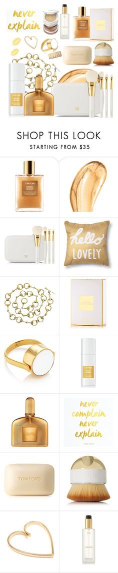 """""""Tom Ford beauty"""" by ellenfischerbeauty ❤ liked on Polyvore featuring Tom Ford, Xhilaration, Gucci, Artis and Cartier"""