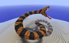 Dat snake...it just so cool!