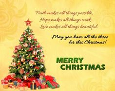 Top Merry Christmas Wishes and Messages | Christmas | Pinterest ...