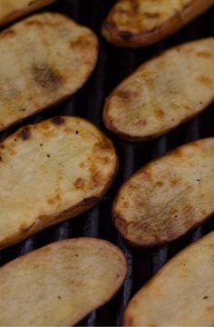 Grilled Salt & Vinegar Potatoes