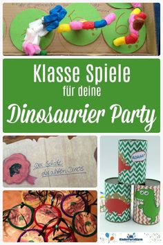 Dino kids birthday games - great game tips for a dinosaur party Informations About Dino Kindergeburtstag Spiele Pin You can eas - Birthday Games For Kids, Birthday Party Games, Dino Craft, Dino Kids, Christmas Party Invitations, Dinosaur Party, Tyga, Diy Party, Christmas Fun
