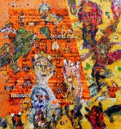Dedy Sufriadi: The God And I, 2014, Mixed Medium on Canvas, 150 x 150cm. Represented by Ode To Art. The variety of his subject matter is a testament to Dedy's growth as an artist. Constantly inspired by the events around him and his personal journeys, his works continue to be diverse and versatile.