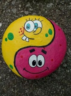 50 Simple Painted Rock Ideas For Garden - Do you have got a backyard that's crying for assist? Because the climate modifications every season it's good to have one thing in your backyard which stays… Rock Painting Patterns, Rock Painting Ideas Easy, Rock Painting Designs, Painting For Kids, Paint Designs, Diy Painting, Cave Painting, Cartoon Painting, Pebble Painting
