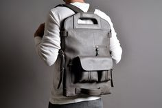 hard graft 2Unfold laptop bag