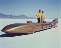 land speed record goldenrod - Google Search