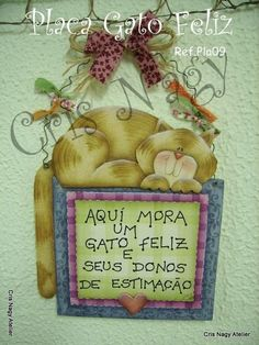 placa gato