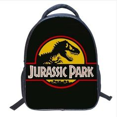Realistic Dinosaur Graphic Backpack- 5 designs!