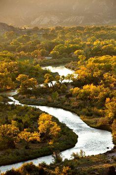 Rio Chama in New Mexico