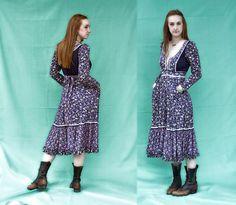 70's Gunne Sax dress