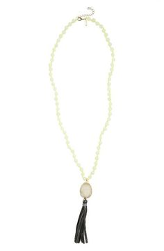 Panacea Tassel Pendant Necklace available at #Nordstrom