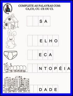 Pequenos Grandes Pensantes.: Atividades Inéditas com a letra C                                                                                                                                                      Mais