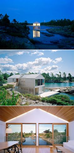 Floating House, Canada / MOS