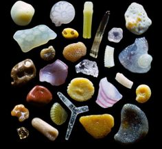 Grains of sand photos by Gary Greenberg