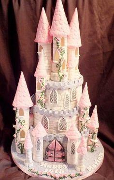 Moda para Peques: Tortas de Cumpleaños en Forma de Castillo