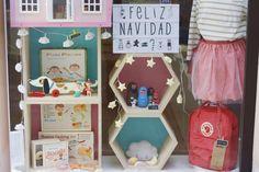 Jo Mami | Escaparate de navidad en la tienda para niños Jo Mami en Gijón | http://www.jomamikids.com/blog