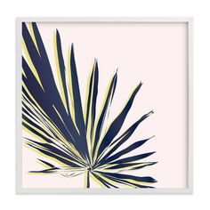 """Palm Study #1"" - Art Print by Cindy Lackey in beautiful frame options and a variety of sizes."