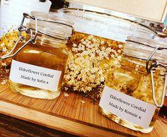 Instagram Elderflower Cordial, Natural Materials, Sugar, Bread, Instagram, Food, Brot, Essen, Baking