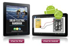 New Solar Training Textbook (+ iPad & Android eBook Versions) & an Upcoming Solar Training Course Aug. 6