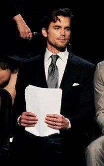 Graduation. The tie. Matt Bomer as Christian Gery. #FiftyShadesofGrey