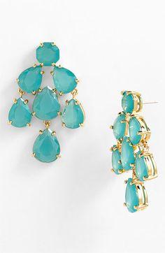 LOVE LOVE LOVE LOVE LOVE!!!!!!!!! kate spade new york faceted chandelier statement earrings | Nordstrom