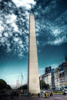 Obelisco, Buenos Aires. #Viagem #Argentina #argentinatotal