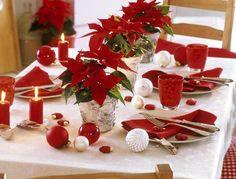 クリスマステーブルデコレーション飾り方画像
