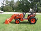 VERY NICE  KUBOTA  B 2920   4X4 LOADER TRACTOR ONLY 116 HOURS