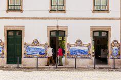 Pinhão, Portugal, Douro, Estação de Trem, Azulejos