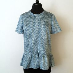 Zara top New with tag. 100% Polyester Zara Tops