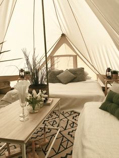 Even we are a bit jealous of our own guests. 😅 Be the envy of all campe … – My Store Bell Tent Camping, Glam Camping, Camping Glamping, Luxury Camping, Camping Tips, Tent Living, Home Living Room, Rustic Outdoor, Outdoor Decor
