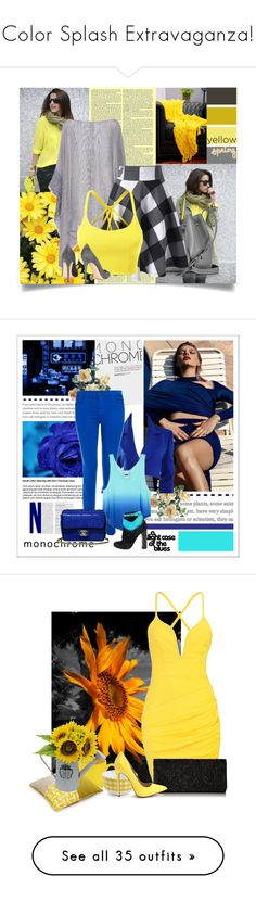 """""""Color Splash Extravaganza!"""" by teamfreewillspn ❤ liked on Polyvore featuring rag & bone, Lancaster, LE3NO, Gianvito Rossi, Woven Workz, contest, ownstyle, 60secondstyle, teammannequin and Boohoo"""