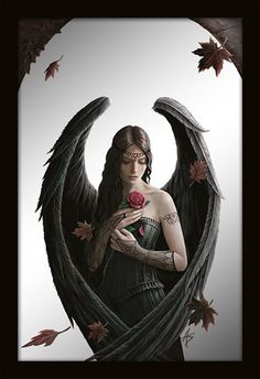 Miroir ANNE STOKES - Angel Rose