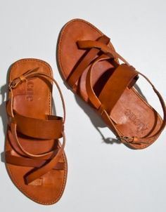 Acne Jeans Camel Ease Sandals