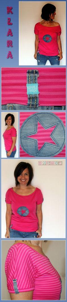 appli-mix: Ein ideales Shirt zu Jeans ... Klara by #allerlieblichst