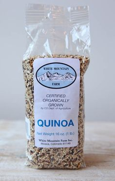 """""""Made in America"""" quinoa from Colorado!"""