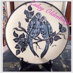 Pintura sobre cerámica