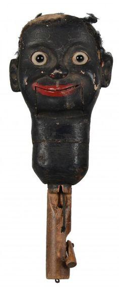 Vintage Ventriloquist's Dummy Head