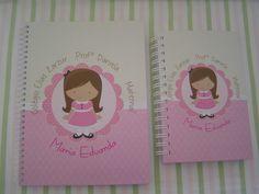 Caderno Personalizado | Mimos e Ternura Festa | Elo7