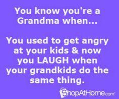 For Peg as a new grandma