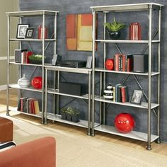 the orleans multi function marble storage unit avenue greene grey ladder storage office wall