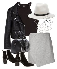 """""""Untitled #3557"""" by amylal ❤ liked on Polyvore featuring Zara, Carven, rag & bone, Yves Saint Laurent, Dolce Vita, Forever 21 and Monica Vinader"""