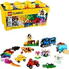 LEGO Classic Medium Creative Brick Box 10696 Building Toys for Creative Play; Kids Creative Kit Pieces) in Building Sets. Lego Technic, Legos, Disney Pixar, Lego Party Games, Lego System, Lego Construction, All Lego, Lego Pieces, Creative Play