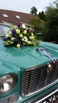 Autostuk Wedding Car Decorations, Flower Decorations, Nice Ideas, Flowers, Brides, Red, Ornaments, Autos, Wedding