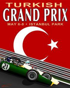 Turkish Grand Prix poster