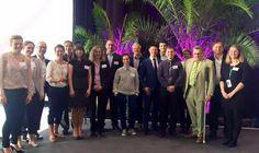 Konferenz Barrierefreie IT - Referenten, Teilnehmer und das Orga-Team der Konferenz.