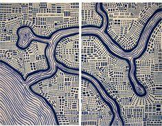 You Are Here: Mapping the Psychogeography of New York City, Pratt Manhattan Gallery, New York, 2010