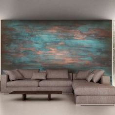 Especially painting for colored walls and rich design. You can donate the verdigris effect to all objects that you want.