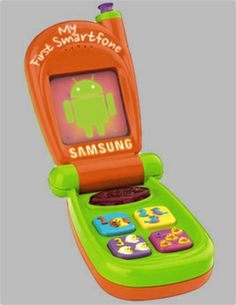 Android: the Fisher Price of smartphones, training wheels for iOS
